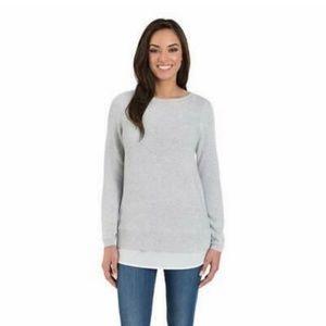 Hilary Radley  Long Sleeve  Crew Neck Sweater